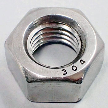 Hex Nut, Stainless