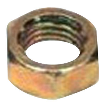 Three kinds of hexagonal nut (iron / fabric)