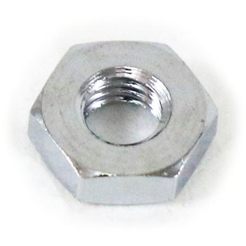 Hexagon nut 3 types of cutting (brass (low cadmium) / chrome) (packed item)