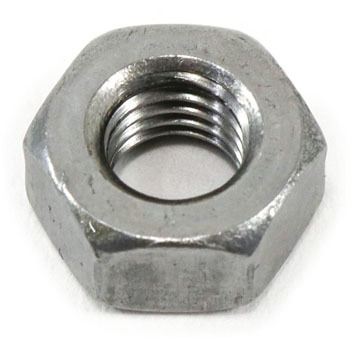 Hex Nut Unified, UNF, Iron, Packed