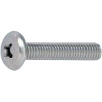 (+) Bind small screw (stainless steel / head part white (only head part painted)) (pack article)