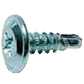 Self Drilling Screw, Iron, Trivalent Uni Chromate, Stainless Steel