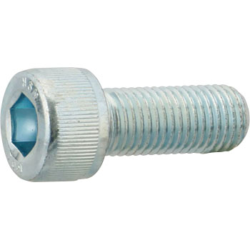 Hex Socket Head Cap Screw, Fine, Iron Trivalent White