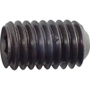 Hex Socket Set Screw, Cup Point, Iron