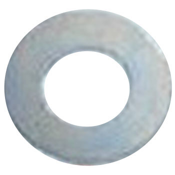 Round washer Tokusun (iron / trivalent White) (small box)