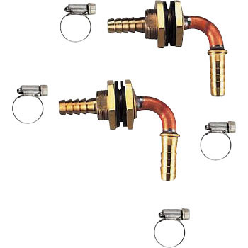 Unit bus penetration fitting (for pair hose) 15 A pair hose (plug-in) series