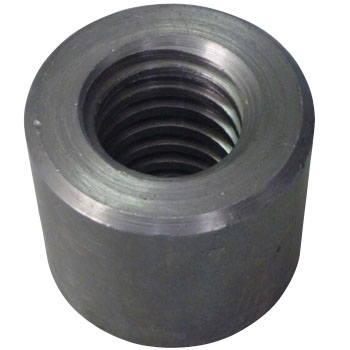 15% Trapezoidal round nut (A type , Left thread (L)) (Iron / cloth)