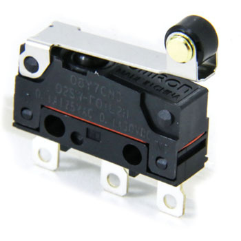 Sealed miniature basic switch D2SW-P