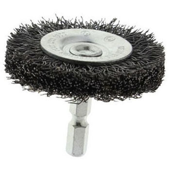 Hex Shank Cup Wire Brush