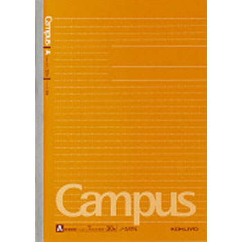Campus Notebook Dot and Ruled