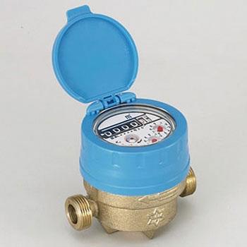 Mawarina display section rotary type water meter