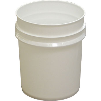 Hospital Waste Disposal Bucket, Sanpail #20M, White