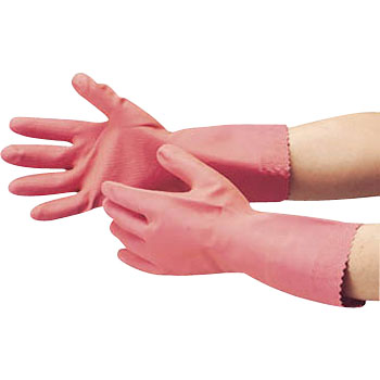 Natural Rubber Gloves, Thick