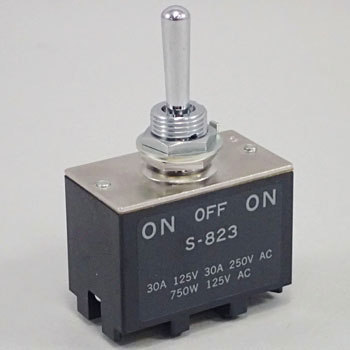 Small Toggle Switch for High Current S Series