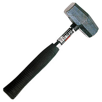 Stone Head Hammer Pipe Handle