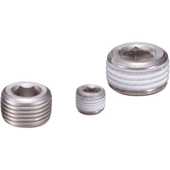 Tapered screw plug for SFTS piping (sink plug)