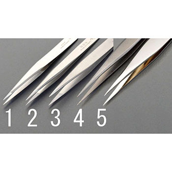 0.3x120mm precision tweezers (made of a titanium alloy)