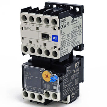 Standard type electromagnetic switch Contactor type auxiliary relay SK series DC-operated (2.4W) 12