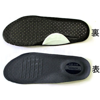 [M] Fuminuki prevention plate filled insole