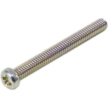 M2 x20mm pan head machine screws(trivalent chromate/25 pcs )