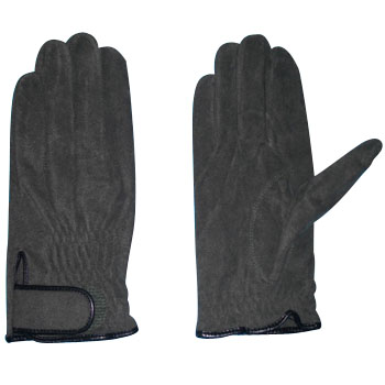 Synthetic leather pilot magic gloves