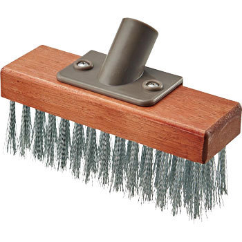 Deck Brush Wire 180 Wooden Handle