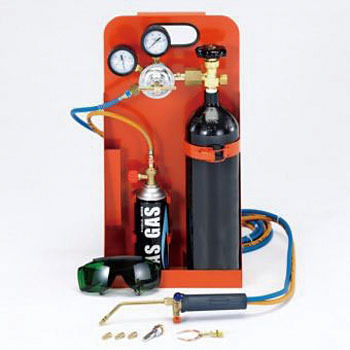 Mini welding machine(propane butane cartridge oxygen)