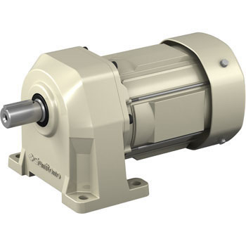 Presto NEO gear motor (three-phase 200V , indoor type) with legs mounted  brake