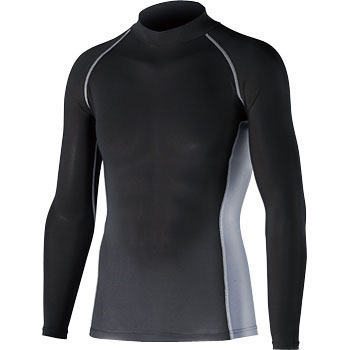 Cold Feeling Deodorant Power Stretch Long Sleeve High Neck Shirt