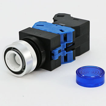 TW series illuminated pushbutton switch protrusion (LED) alternate type