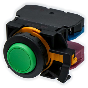 phi22 flash silhouette switch CW series pushbutton switch (circle projected)