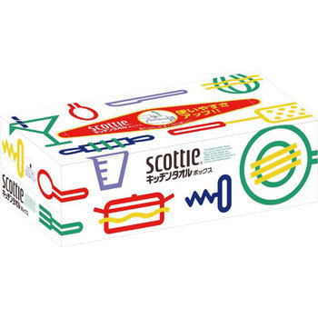 Scotty kitchen towel box