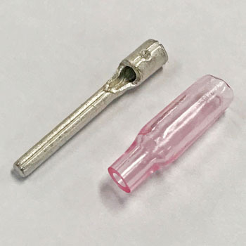 Insulating Cap Bar-Shaped Crimp Terminal, Pin