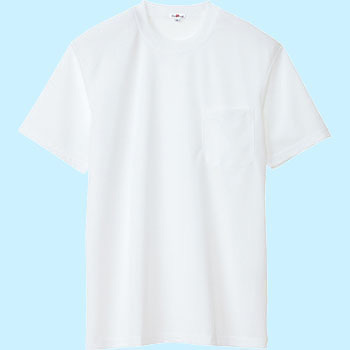 AZ-10576 sweat quick-drying short-sleeved T-shirt (pocket) (unisex) (for the year)