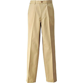 HS2602 Bottoms Men's shirring one tack Chino pants (for the year)