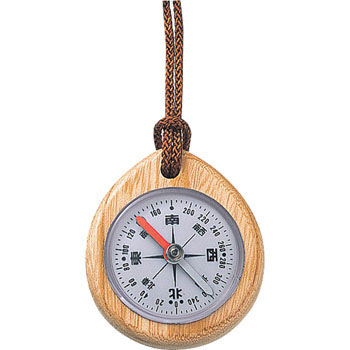 Direction Compass Oil type for Japanese letter wooden type