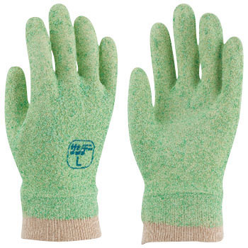Foamed vinyl gloves with binista sunday G No. 673