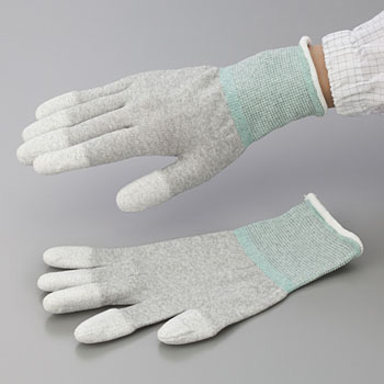 Fingertips Coated ESD Gloves