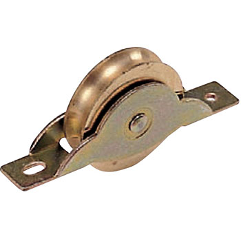 Brass door roller frame