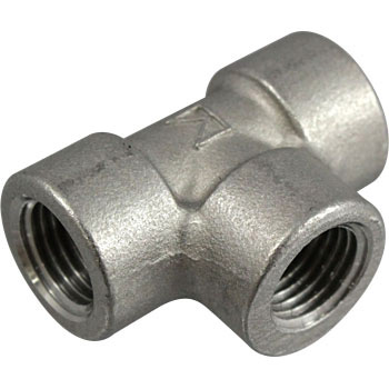 Stainless steel cheese screwed pipe fitting