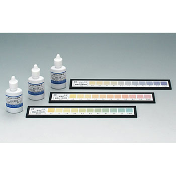 Paper PH measurement set for the test solution only