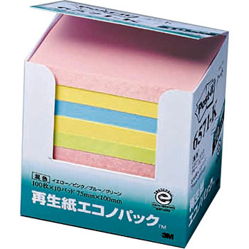 Post-it Econo pack 657 (75 x 100)