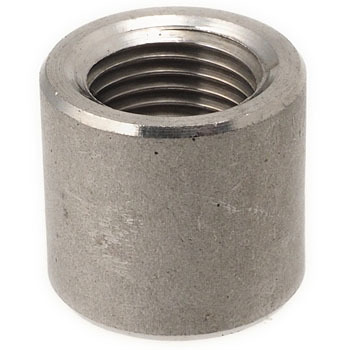 Half socket stainless steel screw-in fitting