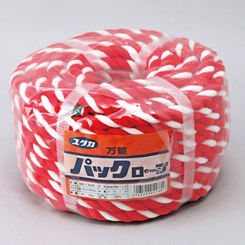 Acrylic Rope All Purpose Pack 12 Phi X 20M Red And White