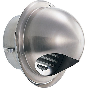 Stainless steel round with food draining louver bis removable