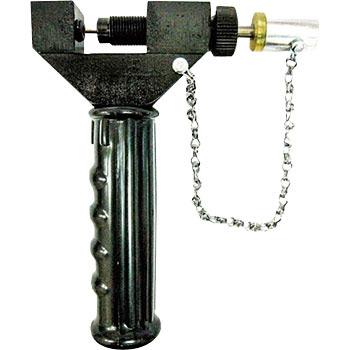 Straight punch chain cutter