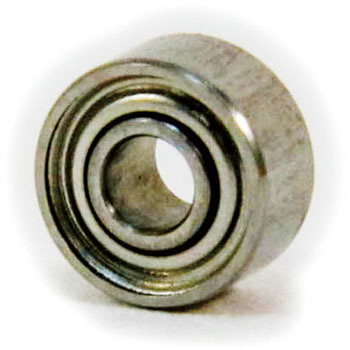 Miniature Stainless Ball Bearings Double Side Steel Shield Type