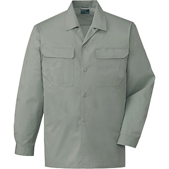 84,624 100% cotton long-sleeved open shirt (for spring and summer)
