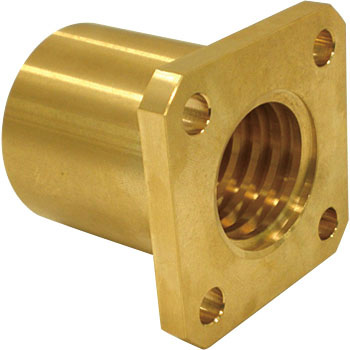 Standard 4-Flat flange nut (right-hand thread)