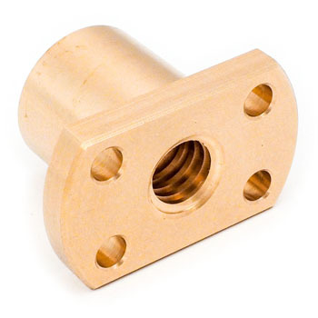 Standard two-sided cut flange nut (right-hand thread)
